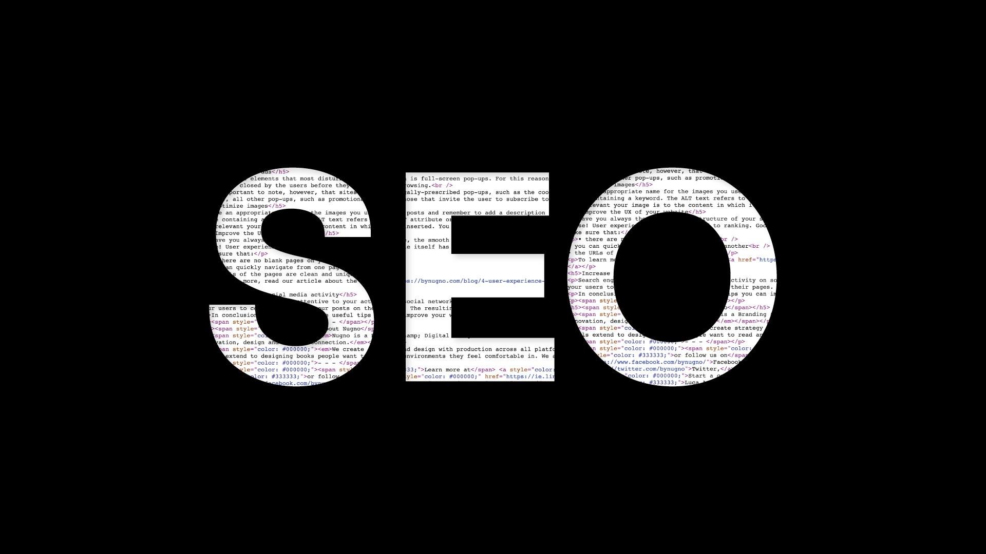Helpful SEO tips: 5 ways to improve your website
